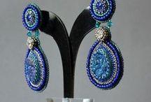 Beadwork jewelery by Frydzia2009/ Trinket Studio / My beading work-Bead Crochet Necklace  and else