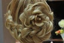 Hair + Beauty Brigade / Fun, festive, amazing hairstyles and makeup ideas for weddings and other special events (like Prom!)