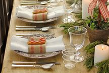 Table settings / by Glenda Holdsworth Maltman