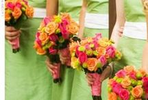 Fun Wedding themes and colors / Inspiration for planning your color scheme and theme ideas for weddings and big events