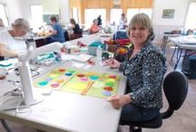Quilting at MISA / by Madeline Island School of the Arts