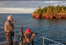 Photography Workshops at MISA / 5-day photography workshops with internationally recognized instructors / by Madeline Island School of the Arts