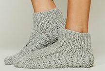 Leggings and socks!