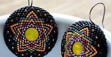 Trinket Studio -  My beading jewelery peyote stitch, circular peyot,round peyote  beading loom / Biżuteria z duszą