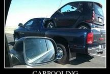 FUNNY STUFF / Anything humorous about all types of transportation.
