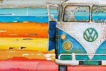 VW BUS, KOMBI, CAMPER / by miGUEL HERRANZ