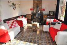 Interieurfoto's Vakantiehuis Auberge Le Barrage / foto's van alle kamers, na de verbouwing