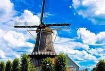Nice Netherlands / pictures of some beautiful places in Holland and typical Dutch stuff