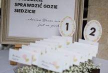 Wesele i poprawiny Magdy i Krzyśka / Dekoracje weselne. Podlasie 2014 r.