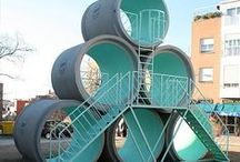 Concrete Playgrounds / We love all things concrete and precast at delzottoproducts.com ! Contact us today!
