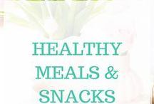Healthy Meals & Snacks / Avoid falling into the pit of major weight gain and other health issues as a work-from-home mom who sits at her desk all day. Healthy eating habits are extremely important.