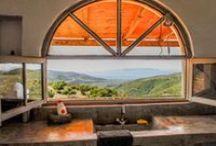 Natuurhuisjes met uitzicht / Natuurhuisjes met een schitterend uitzicht!