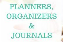 Planners | Organizers | Journals / Looking for planner, organizer, and journal ideas and tools?