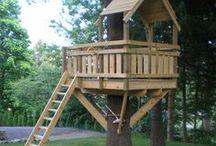 La cabane au fond du jardin / Cabanes de rêve pour petits aventuriers