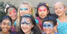 Face Painting / Enjoy this collection of our face paint works! :)