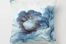 Pillow shop / High quality throw pillows, floor pillows, pillow shams and more.