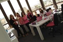 Pink Friday  / Chaque vendredi, toute l'équipe d'Aujourdhui.com partage un verre de vin avant de partir en week-end !