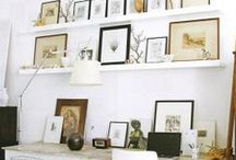 Organizational ideas for home / closet, storage tricks for small spaces, vintage pieces for incorporating into closets / by Debbie Sheegog