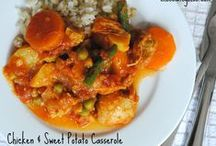 Winter warmers / Hearty stews, casseroles and soups for those cold winter nights.