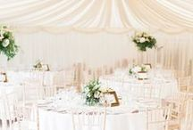 Lovely Wedding Settings / Gorgeous table settings and area settings