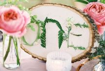 Number Your Table! / Lovely table number ideas to dress up any event table with arranged seating!