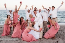 Coral Colored Theme Wedding