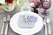 Table settings to swoon over / Table settings and table scapes that are guaranteed to dazzle your guests