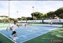 Pine Cliffs Tennis Academy by Annabel Croft / The first Annabel Croft Tennis Academy in Portugal @Pinecliffs Resort
