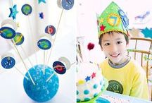 Space kids party ideas