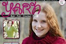 Yarn Issue 34 / Yarn is the Australian magazine for knitting and crochet, with patterns, technical and specialist articles, general interest articles, with a strong focus on natural or unusual fibres. Patterns usually feature a selection of designs and stitch motifs, with lace, Aran, Fair Isle, cables and slip stitch designs being regularly featured. Articles on spinning and fulling are sometimes featured. It is an intelligent magazine aimed at the thinking knitter.