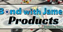 Bond with James Products / Science teaching products that can be used in the middle school and high school classroom. #science #chemistry #biology