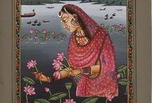 Ragamala Rajput painting