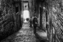 black/white street photography / Black and white street photography