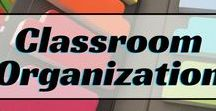 Education: Classroom/Office Organization / Tips and tricks to help organize your classroom and/or office area.