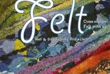 Felt issue 11 / Felt magazine features a mix of wet and dry felt projects, articles,  and an inspirational Gallery from both local and international contributors, plus much more. Contributors in this issue include Rosie Godbout, Lili Haas, Julie Brennan, Pam de Groot, Vilte Kazlauskaite, Silk Road, Helen French, Sheila Smith, Irene van der Wolf, Barbara Nell Morejon, Eve Tiidolepp, Judit Pocs, Pat Surace, Denise Lithgow, Dagmar Binder and Carrie Sacco.