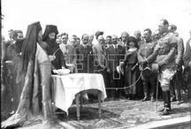 ΣΥΝΟΙΚΙΣΜΟΣ ΠΑΓΚΡΑΤΙΟΥ. Εγκαίνια Συνοικισμού 29 Απριλίου 1923. / 29 Απριλίου 1923: Πεντακόσιες οικίες, κατά το πλείστον διώροφες, παραδίδονται σε μικρασιάτες πρόσφυγες.  Παρόντες στην εορτή των εγκαινίων του Συνοικισμού Παγκρατίου είναι ο Βασιλιάς Γεώργιος, ο Νικόλαος Πλαστήρας, το Υπουργικό Συμβούλιο και η Ιερά Σύνοδος.  Ο Συνοικισμός Παγκρατίου μετονομάστηκε σε Συνοικισμό Βύρωνος την 16η Απριλίου του 1924.