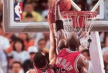 "Basketball / I've failed over and over and over again in my life. And that is why I succeed"" - Michael Jordan"