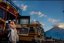 Wedding Destination Guatemala / Wed-in Guatemala Beautiful places to marry, from black sand beaches, lovely lakes with volcano backdrops and historic Antigua Guatemala just to name a few.