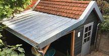 Douglas houten tuinkamer met veranda Bussum / In Bussum een prachtige tuinkamer met veranda gerealiseerd. Het dak en de dakrandafwerking is uitgevoerd in zink voor een authentieke uitstraling.  www.uwverandaspecialist.nl