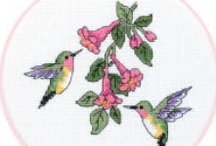 Cross Stitch / One of my favorite winter past times is Cross Stitch, these are my favorite patterns that I have found.