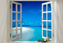 Windows with a view/ port holes / by Delphina King
