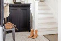 De hal en de trap / Ideeën om van je hal een mooi entree te maken! En: de mooiste trappen!