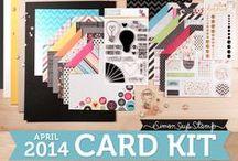 Simon Says April 2014 kit