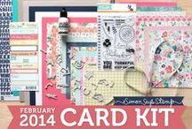 Simon  Says February 2014 kit
