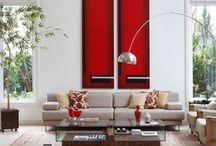 AM Salas  | Living Rooms designed by Angela Meza / Projeto Angela Meza Arquitetura & Interiores Rooms, Interior Design, Quartos, Design de Interiores ➡️www.angelameza.com.br   ➡️www.facebook.com/Angelameza.arquitetura    ➡️https://instagram.com/angelamezaarq