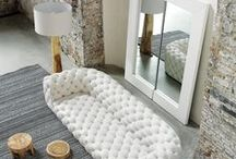 sofas by Paola Navone