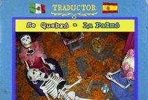 Traductor México-España / ¿Cómo se dice allá y cómo se dice aquí? porque Unimos 12,416 km.