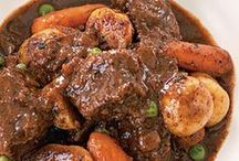 Slow cooked - Stews & Braised