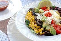 Salads + Dressings / salad recipes | salad dressing recipes | healthy salad recipes | chopped salad recipes | winter salad recipes | summer salad recipes | easy salad recipes | salad recipes for a crowd