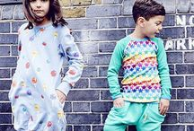 Kids Colour Pop Fashion AW15 / Bright and colourful stylish clothing for kids aged 0-7